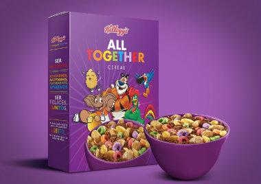 Kelloggs, cereales, ALL TOGETHER, mes del Orgullo,#KelloggAllTogether, comunidad gay, edición especial
